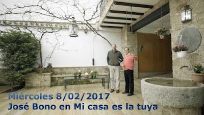 Bono con Bertín en Mi casa es la tuya