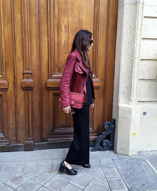 Fashion A Touch of Red in Paris by Funda