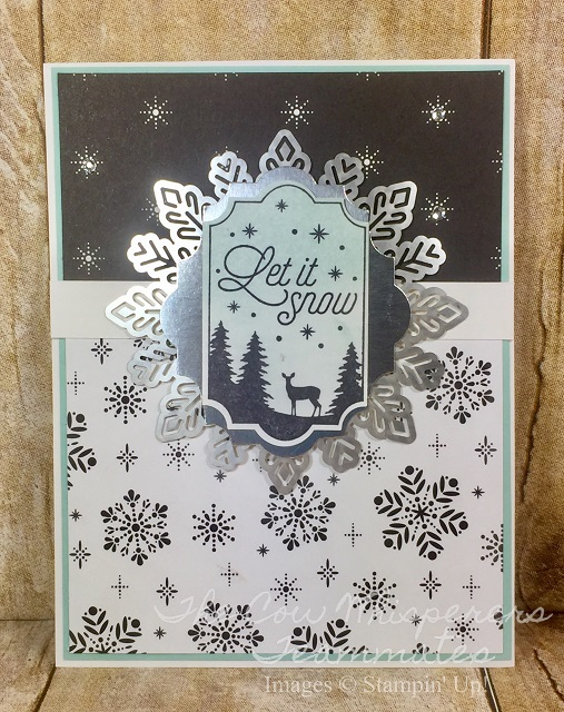 Merry Little Labels, Everyday Label Punch, Card, Retiring