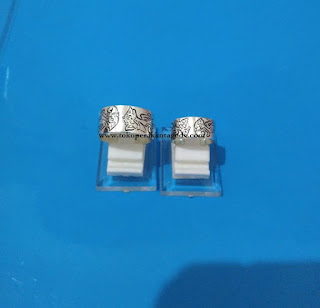 couple ring silver antique,cuople ring puppet, cincin kawin antik,cincin wayang, cincin tunangan disain unik
