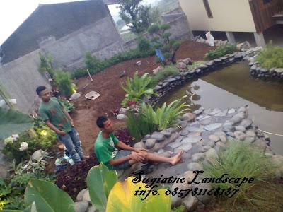 Pembuatan_taman_kolam_villa