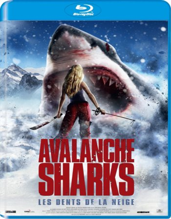 Avalanche Sharks (2014) Dual Audio 300mb