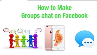 Make Group Chat Facebook