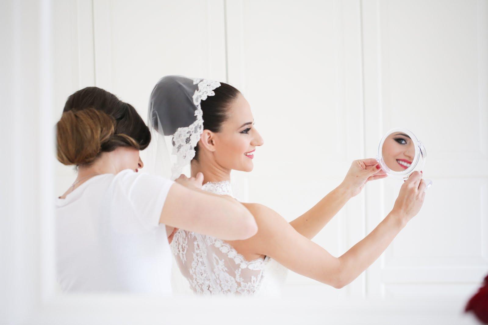 düğün günü hazırlık gelinlik