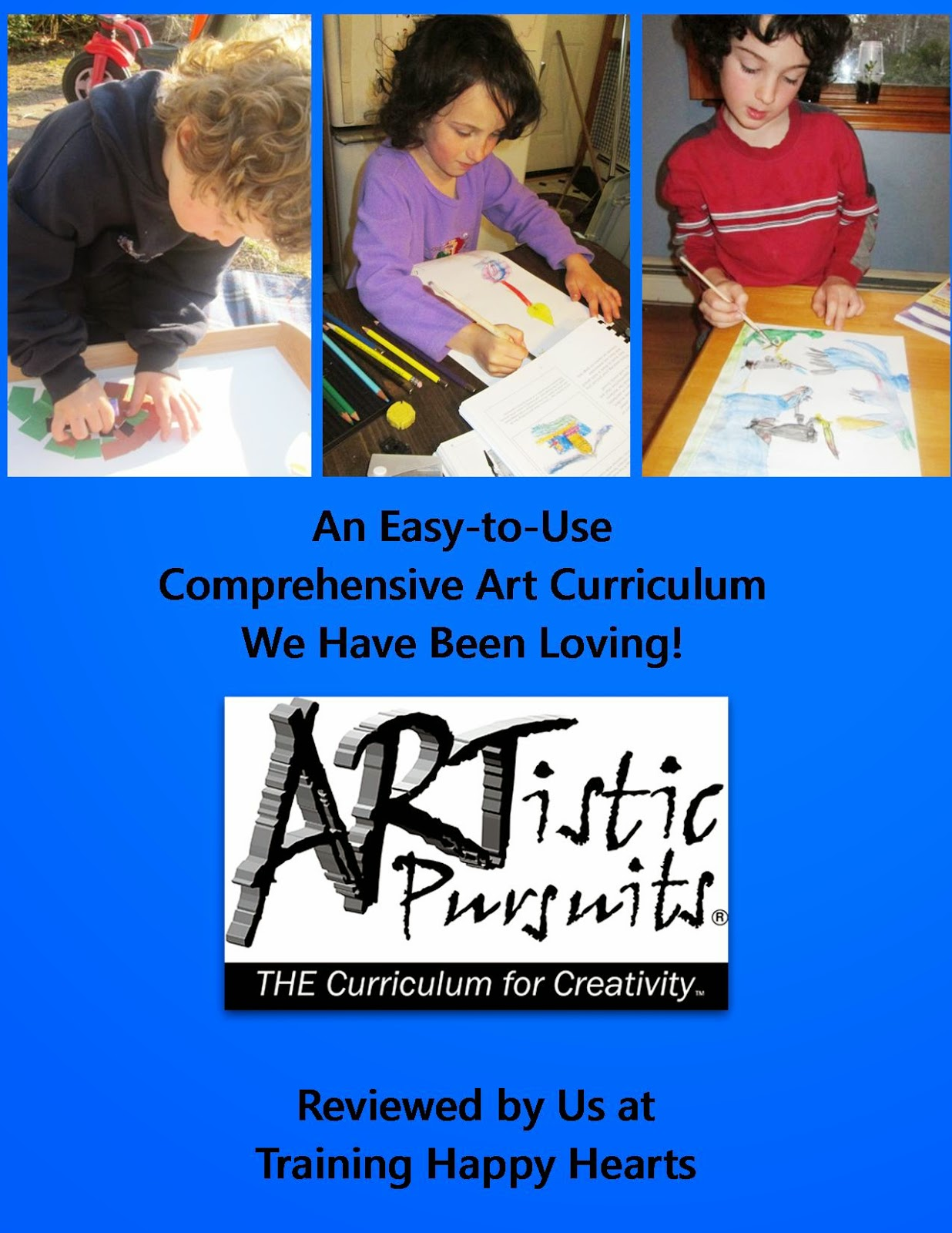 http://traininghappyhearts.blogspot.com.au/2014/04/an-open-and-go-art-curriculum-were.html