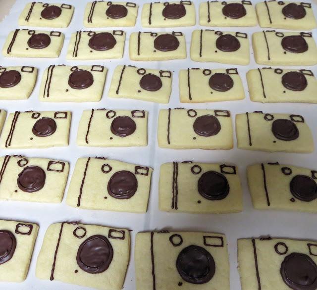 Camera Sugar Cookies