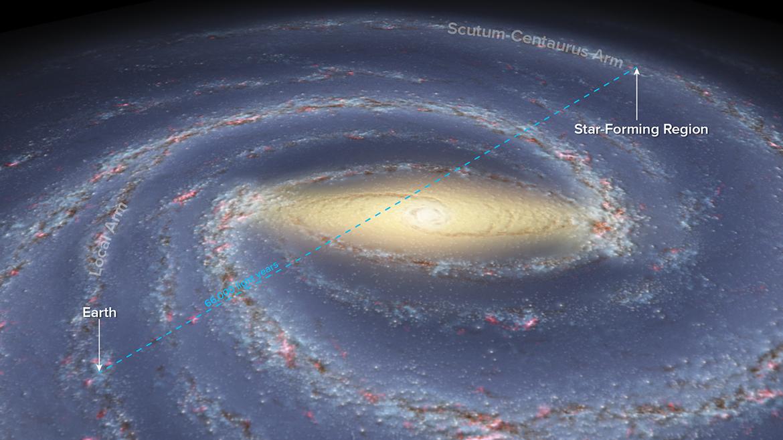 Mengukur jarak untuk mengetahui bentuk bimasakti info astronomy