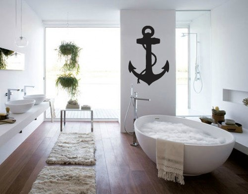 Cool Giant Anchor Wall Decal