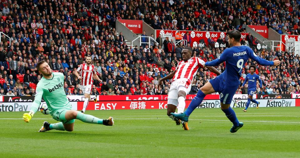Stoke City 0 Chelsea 1 - Morata puts Blues ahead early on
