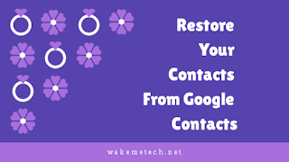 How to Restore Your Deleted Contacts from Google Contacts