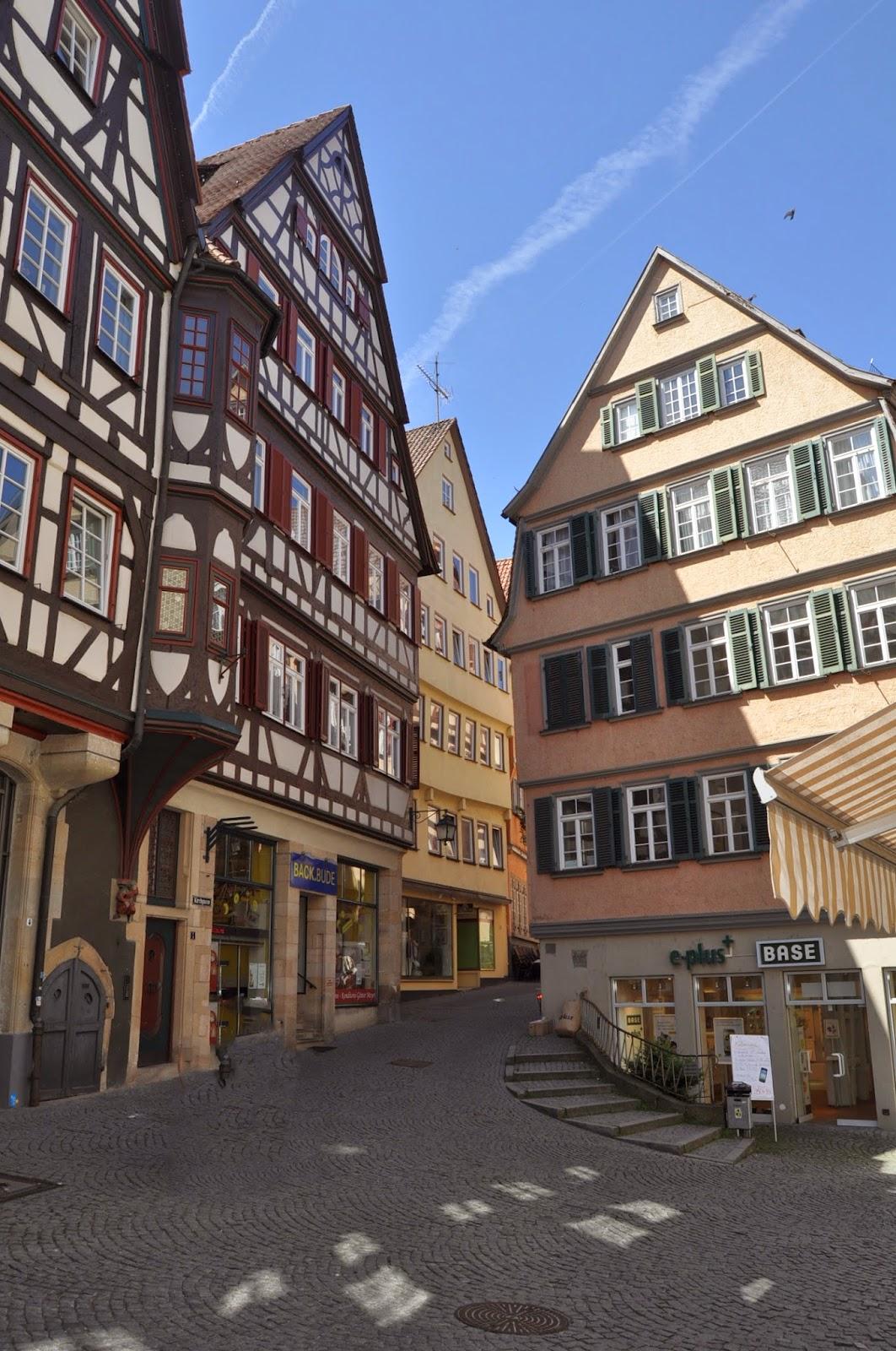 Fotos de calle tipica de Tubingen