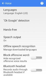 Cara Menggunakan Google Voice Search Secara Offline di Android