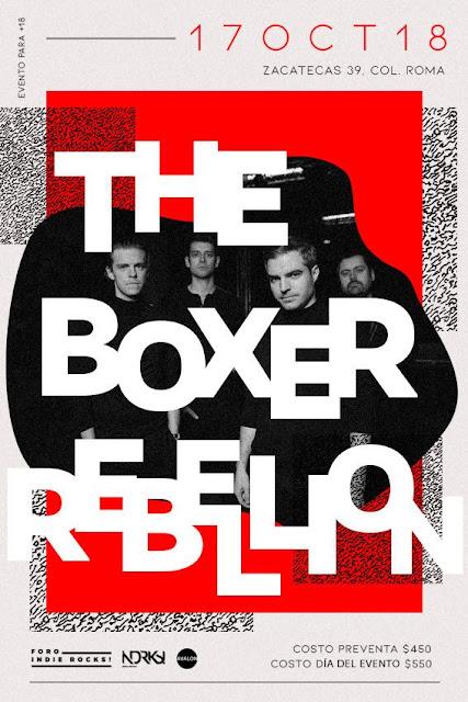 THE BOXER REBELLION EN FORO INDIE ROCKS!