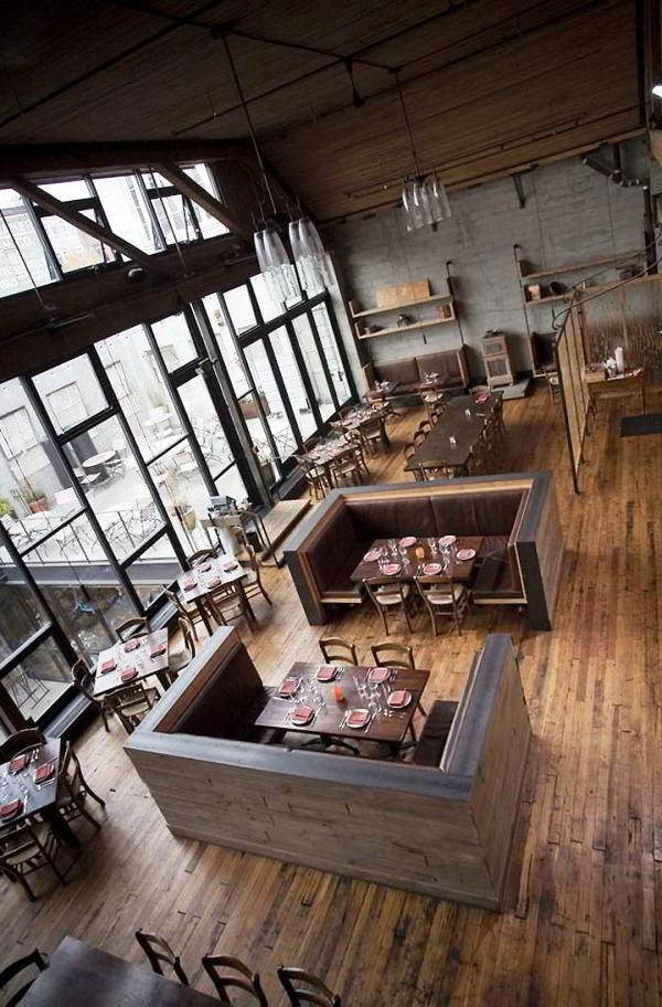 Model Desain Interior Cafe Modern