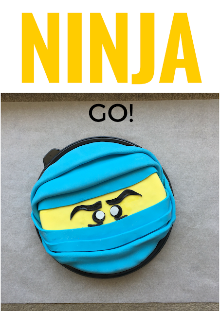 DIY Ninjago Cake by Practical Mom