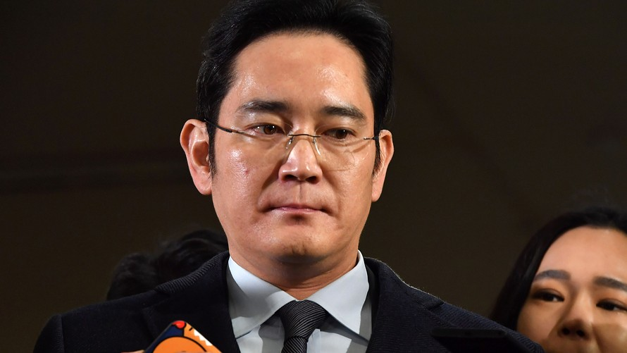 Samsung's Lee Jae-yong Has been arrested in South Korea For bribery.