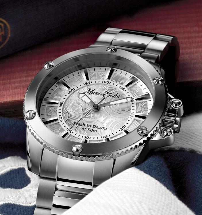 2d38d5dd96f Estação Cronográfica  Chegado(s) ao mercado - relógio Marc Ecko The ...