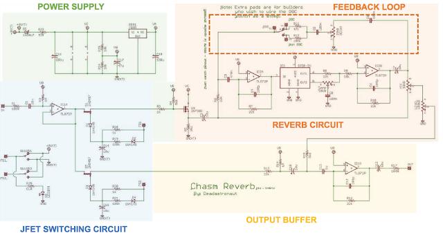 Chasm Reverb Dead Astronaut circuit