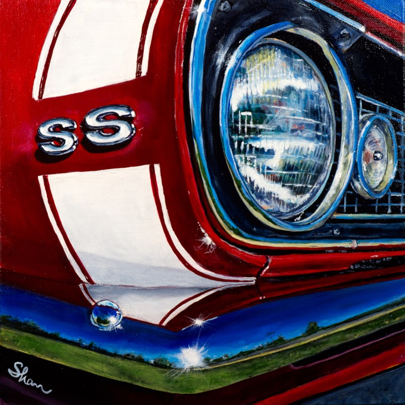 Shan Fannin Realist Vehicle Painter.