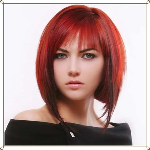 Mode Germany Glamour 246 Se Rote Haare Frisuren