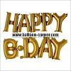 Balon Foil Huruf HAPPY BDAY Link