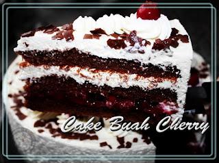 Resep Cake buah Cherry Lembut dan Nikmat