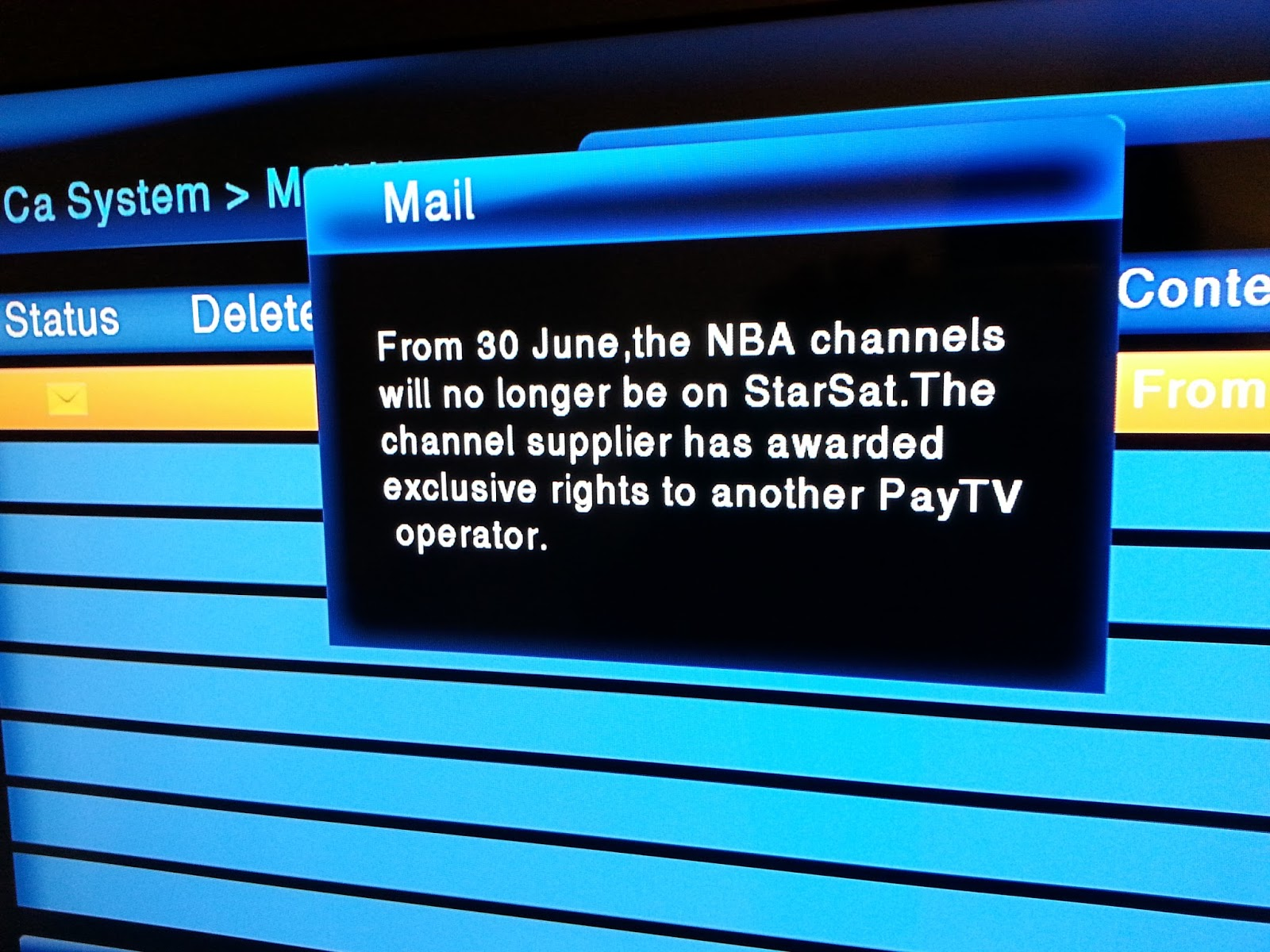TV with Thinus: Next channels on StarSat going dark is the