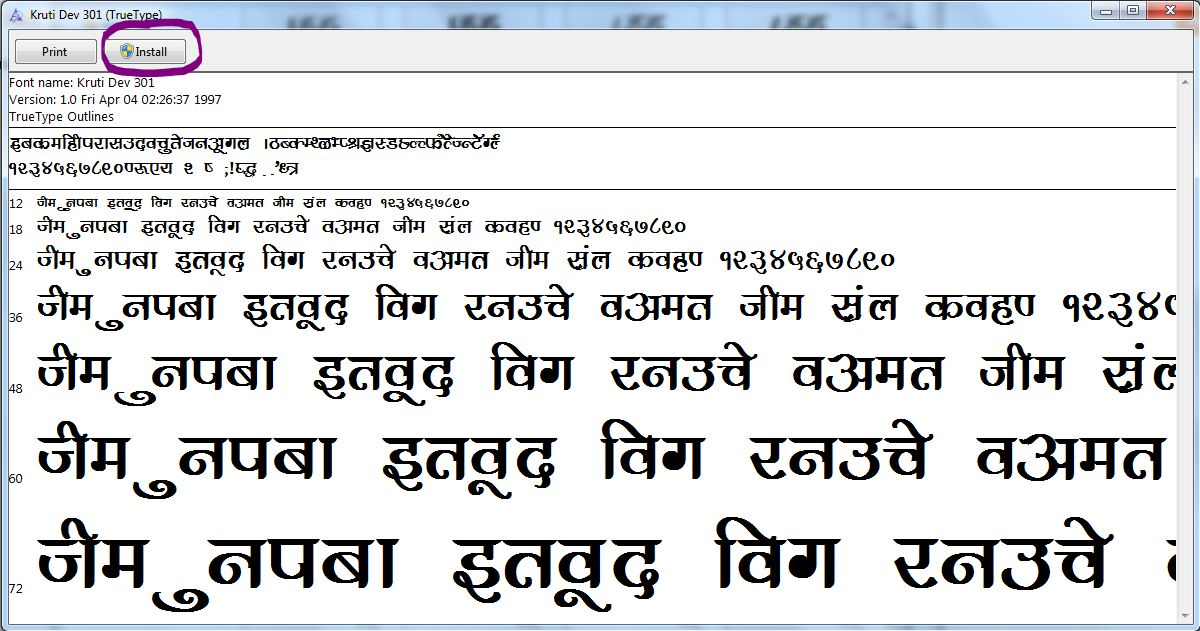 Easy Hindi Fonts Download Free Kruti Dev