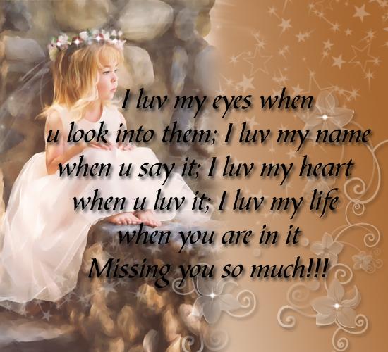 I Miss You Poems, I Miss You Poem