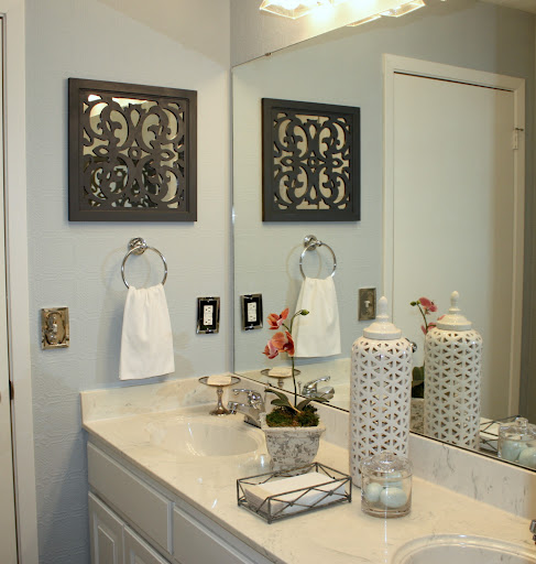 Diy - How to decorate a bathroom cheap ...