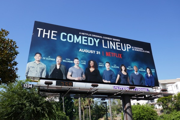Comedy Lineup Part 2 billboard