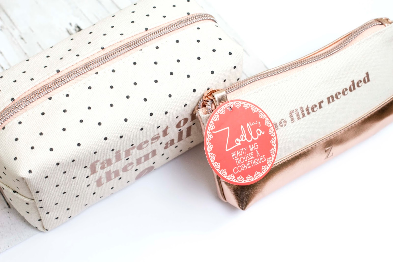 Zoella Fairest Of Them All Midi Cosmetic Bag 9 The First I Want To Talk About Is Which A Gorgeous