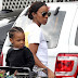 Kelly Rowland Takes Her Mini-me Grocery Shopping (photos)