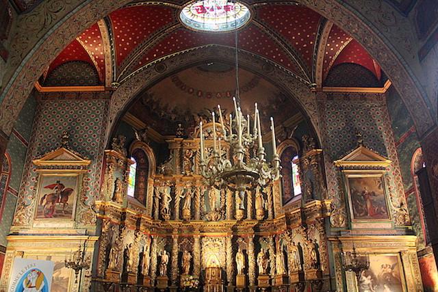 Saint-Jean-Baptiste church in Saint-Jean de Luz, France