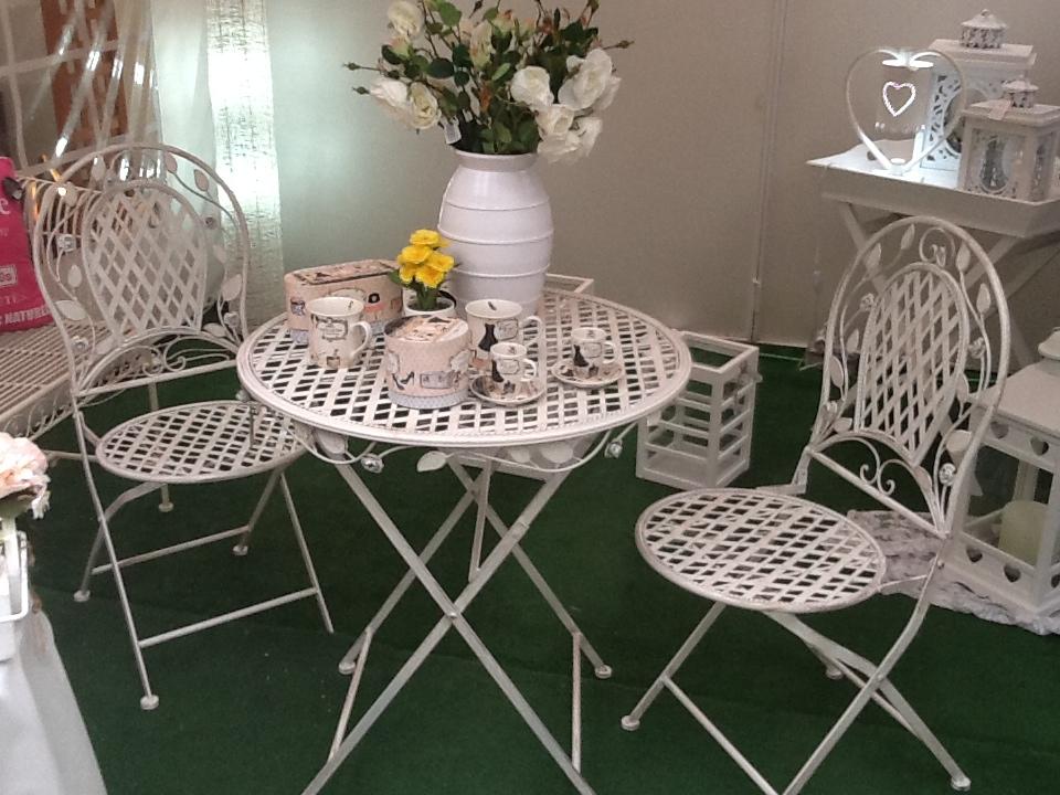 Muideco Tu Blog De Ideas Y Consejos De Decoracion Tendencia - Muebles-de-forja-para-jardin
