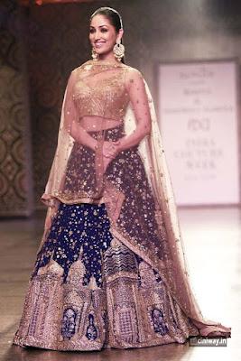 Yami Gautam Stills at FDCI India Couture Week 2016