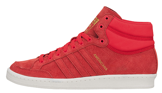 superior quality clearance prices lower price with Tokyo Sneaker Club: adidas Americana Hi 88 Red