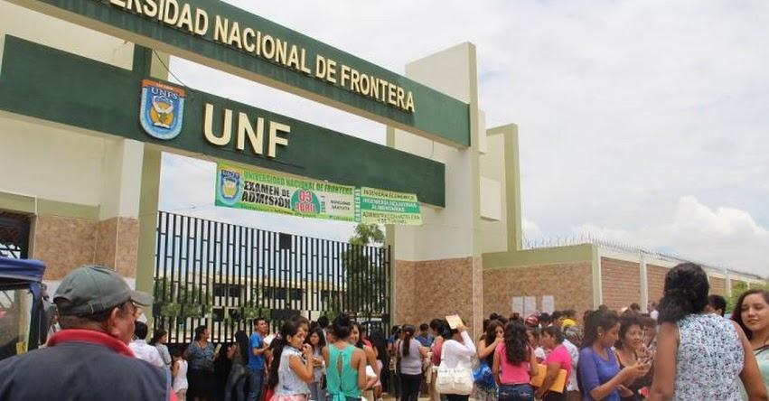 UNF: Universidad Nacional de Frontera realizará Examen de Admisión el 31 de Marzo - www.unfs.edu.pe
