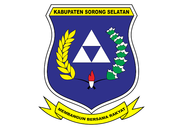 Logo Kabupaten Sorong Selatan Vector