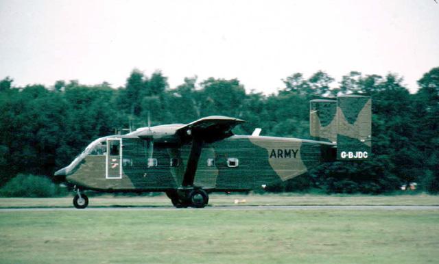 Gambar 45. Foto Pesawat Angkut Militer Short SC.7 Skyvan