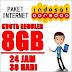 INDOSAT 8GB FULL