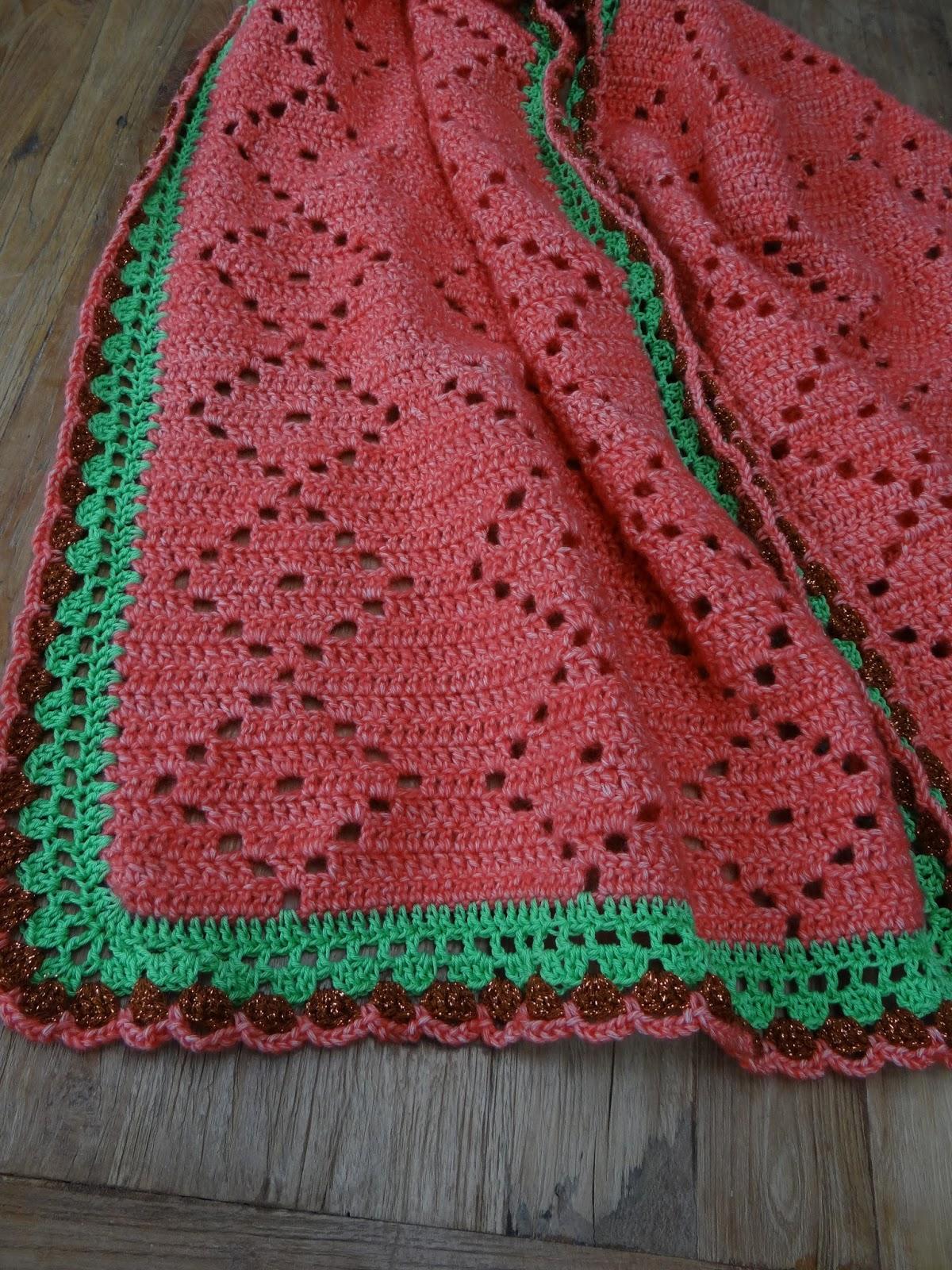 Mijn Filetgehaakte Sjaal Is By Jm