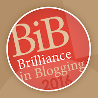 BiBs Brilliance in Blogging 2016