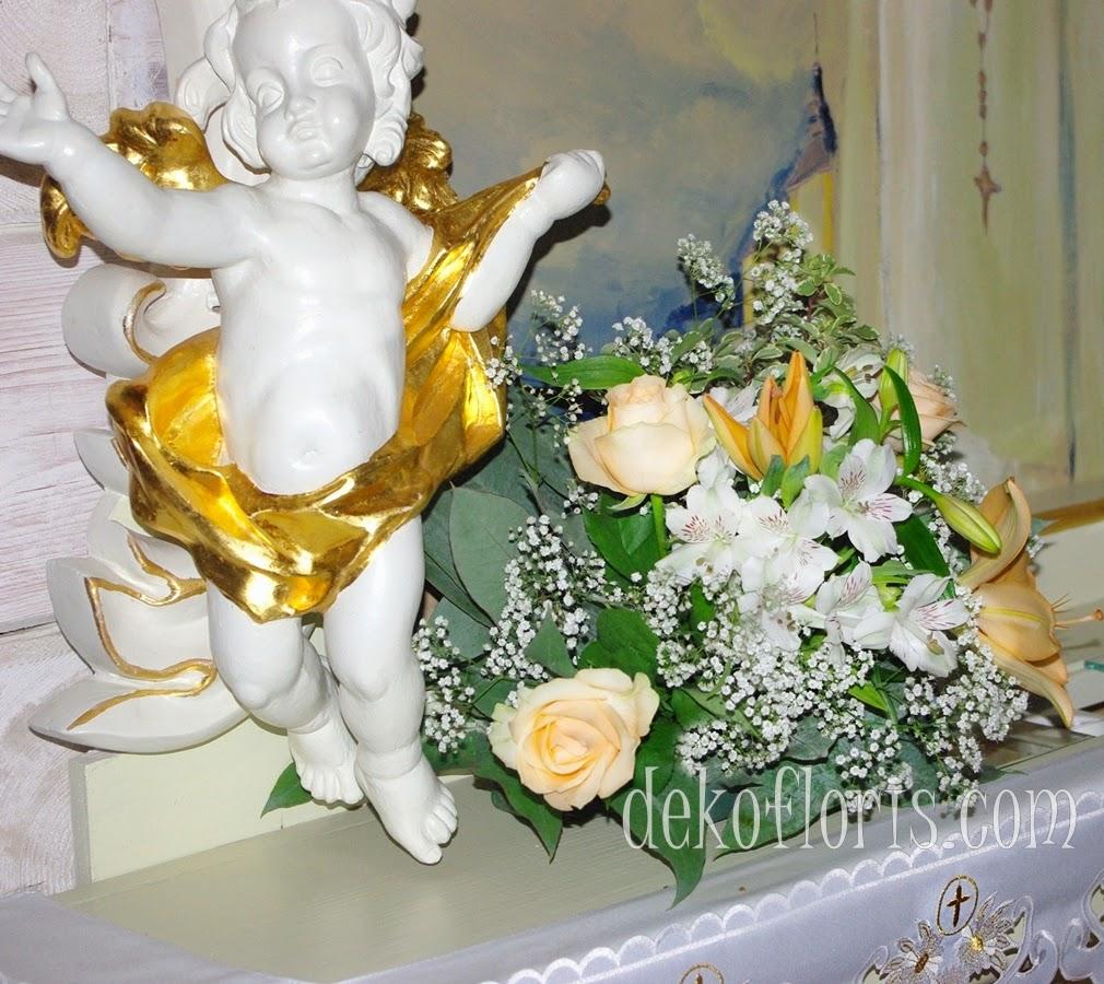 dekoracja ślubna kościoła opolskie