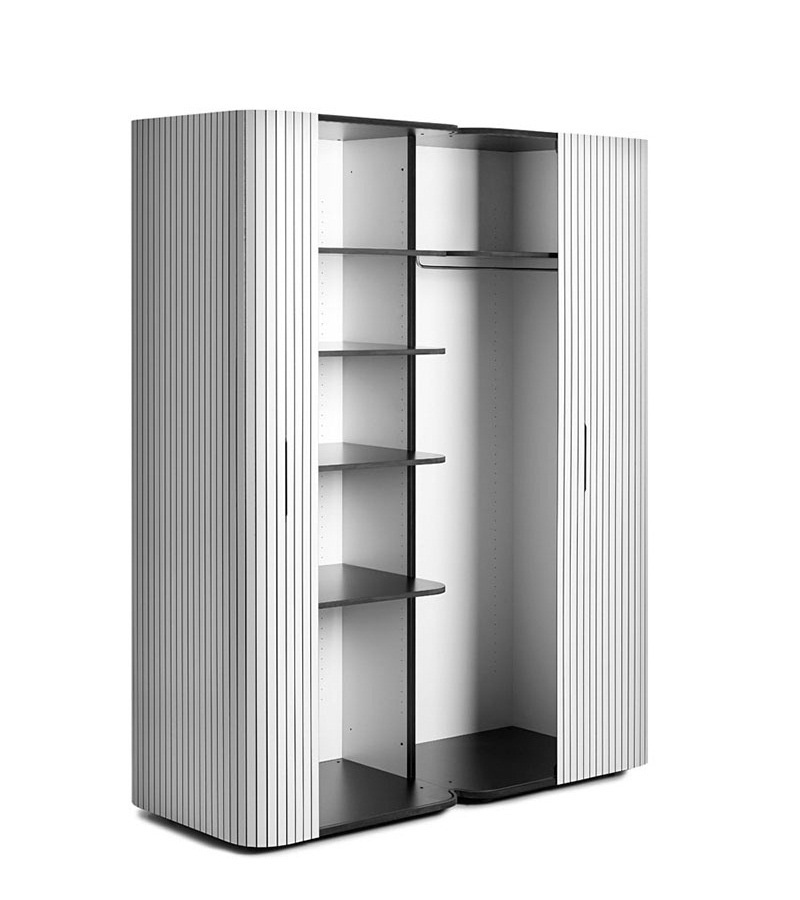 Wogg 49 Modern Wardrobe Design With Roller Door System