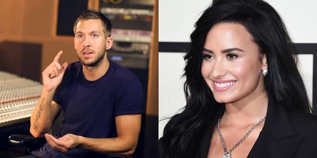 ¿El próximo single de Calvin Harris será con Demi Lovato?