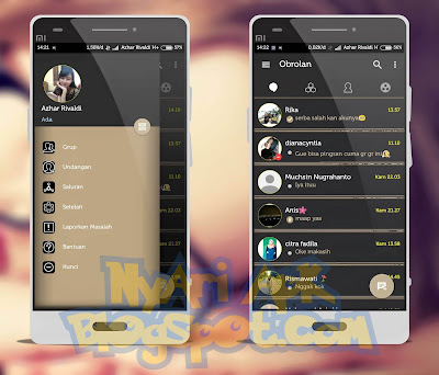Download BBM Mod Aksara Versi 3.0.0.18 Apk Terbaru