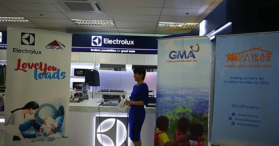 Electrolux Philippines donated 200 washing machines to Gawad Kalinga's and  GMA Foundation's beneficiaries