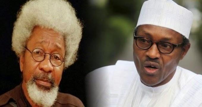 Soyinka speaks on dead, cloned Buhari