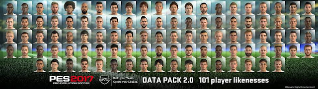 PES 2017 PC Data Pack 2.0 Patch 1.03 - Released 24/11/2016